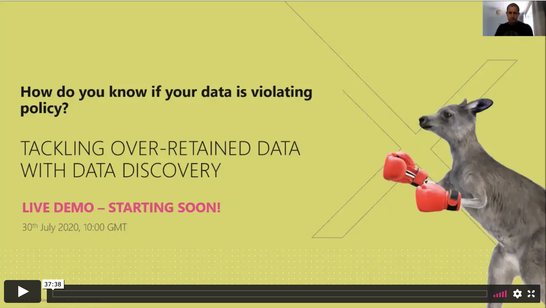 Tackling over-retained data