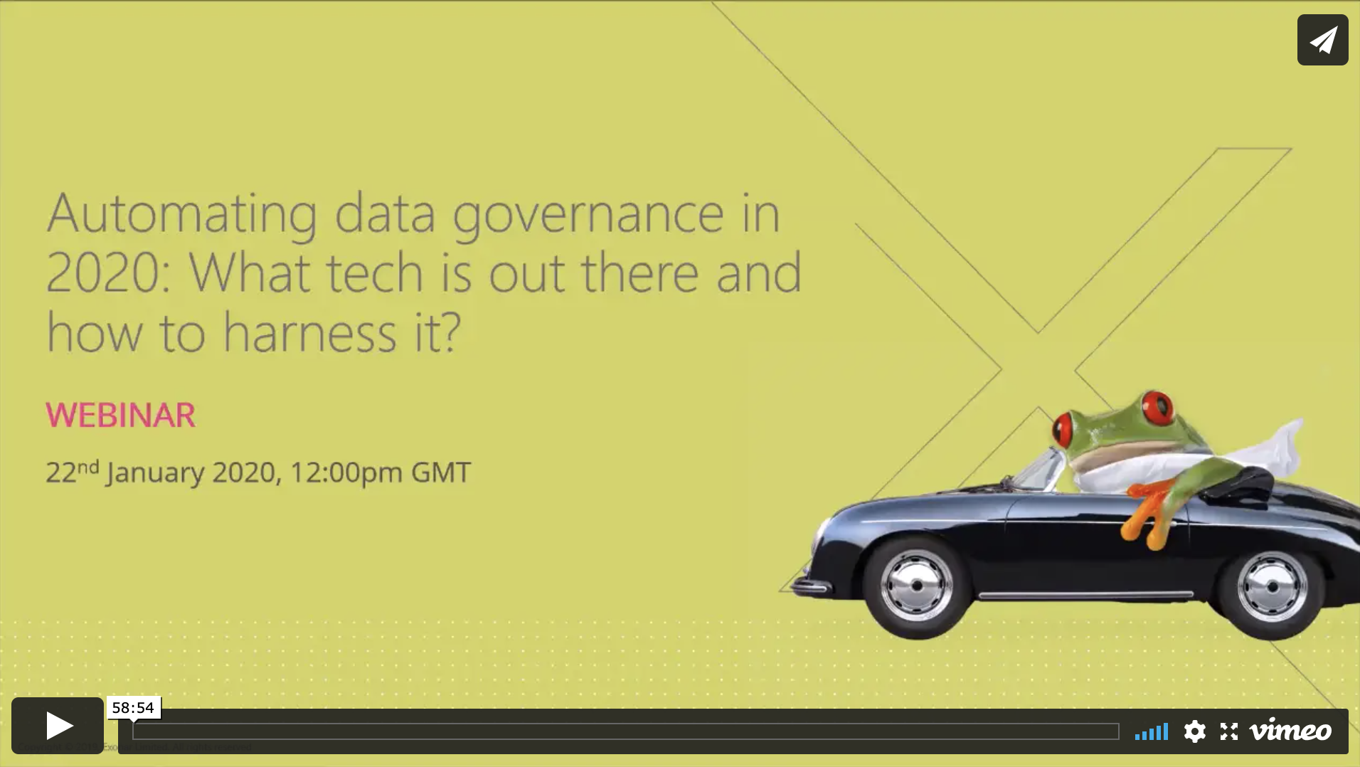 Automating data governance in 2020 what tech is out there?