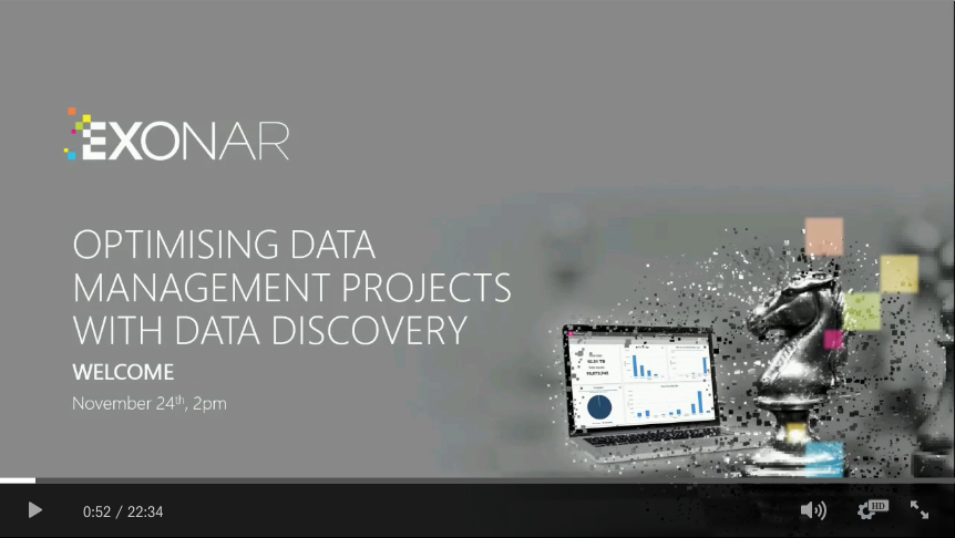 Optimising data management projects